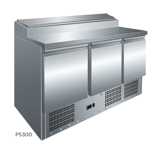 Mesa preparación ensaladas fondo 700 modelo CH PS300 [0]