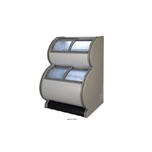 Congelador expositor 2 niveles mod. MQ CH2N 800