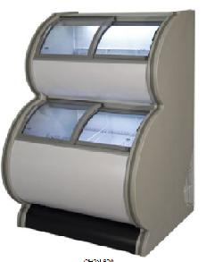 Congelador expositor 2 niveles Mod. MQ CH2N 1270