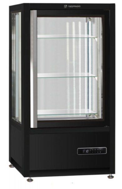 Vitrina vertical sobre banco especial pastelería / heladería - refrigeración ventilada modelo MQ MUSA120Q