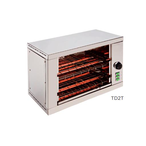 Tostador eléctrico con resistencias de cuarzo modelo CH TD2T