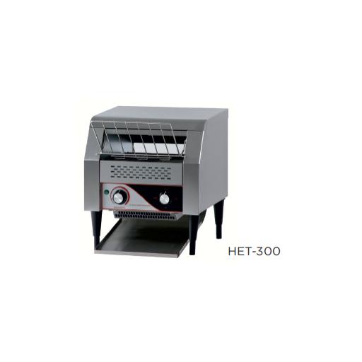 Tostador eléctrico de cinta modelo CH HET-300