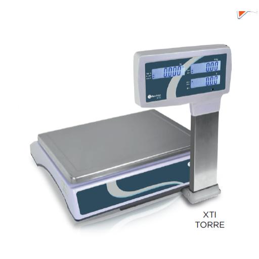 Balanza SIN impresora de tickets sin conexión a TPV modelo CH XTI TORRE