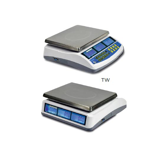 Balanza SIN impresora de tickets con conexión a TPV modelo CH TW