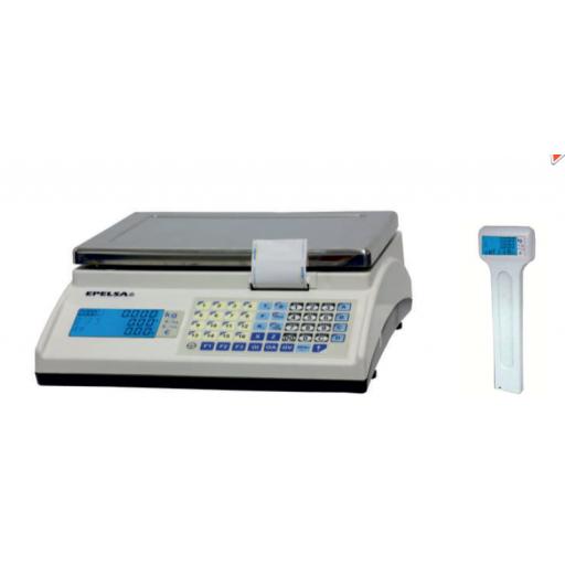 Balanza CON impresora de tickets con conexión a TPV / Registradora modelo CH MARTE10V4IC