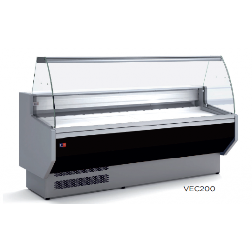 Vitrina refrigerada expositora fondo 800 modelo CH VEC150