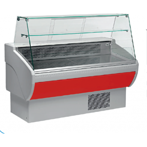 Vitrina refrigerada expositora fondo 800 modelo CH VPL100VPR