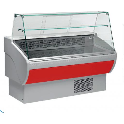 Vitrina refrigerada expositora fondo 800 modelo CH VPL200VPR