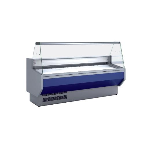 Vitrina refrigerada cristal recto fondo 800 modelo CH VED-8-10-R