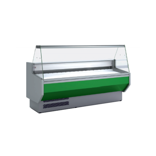 Vitrina refrigerada cristal recto fondo 940 modelo CH VED-9-15-R