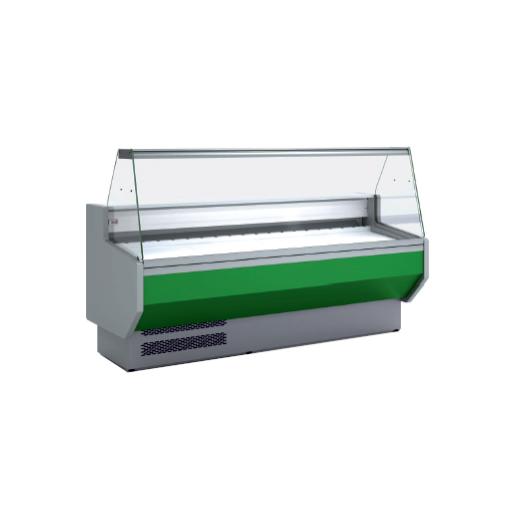 Vitrina refrigerada cristal recto fondo 940 modelo CH VED-9-20-R