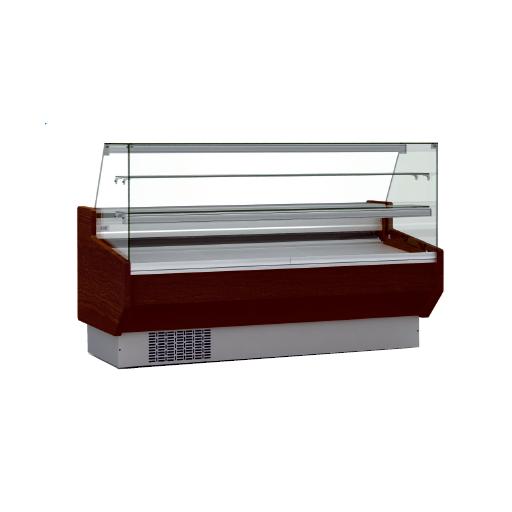 Vitrina refrigerada pastelería cristal doble recto fondo 940 modelo CH VEPD-9-10-RR