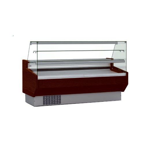 Vitrina refrigerada pastelería cristal doble recto fondo 940 modelo CH VEPD-9-25-RR