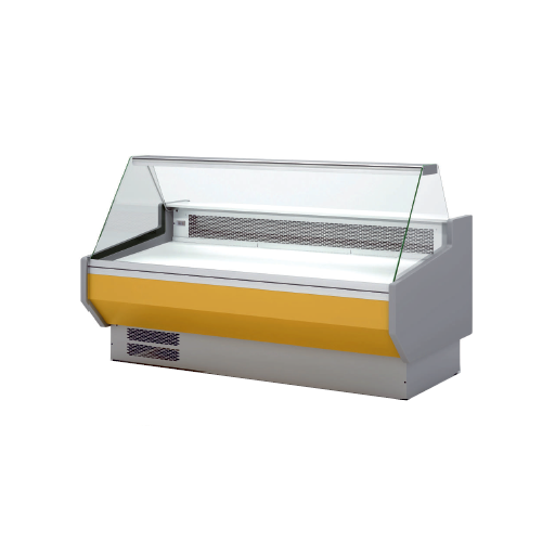 Vitrina refrigerada cristal recto fondo 1100 modelo CH VED-10-10-R
