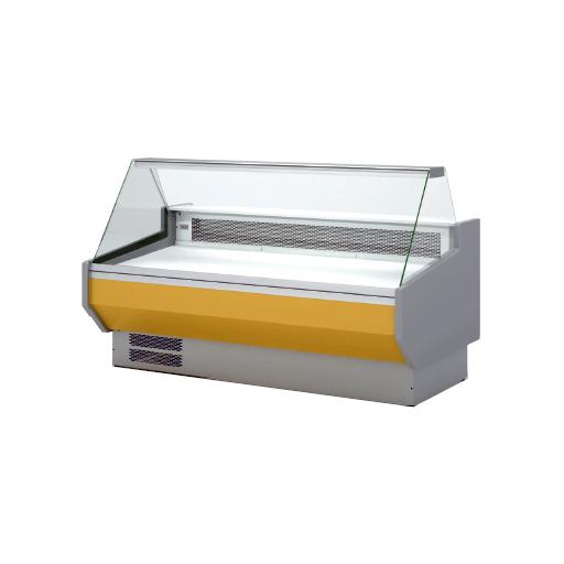 Vitrina refrigerada cristal recto fondo 1100 modelo CH VED-10-25-R-TF