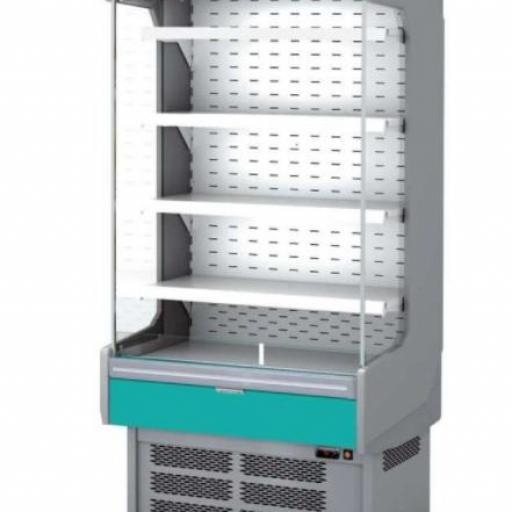 Mural refrigerado expositor fondo 800 lácteos y charcutería modelo CH M-8-150