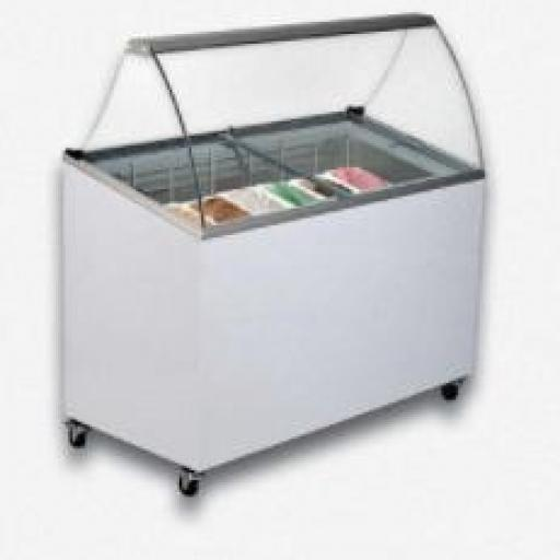 Vitrina de helados modelo DF VG7
