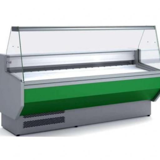 Vitrina refrigerada cristal recto fondo 940 modelo CH VED-9-25-R