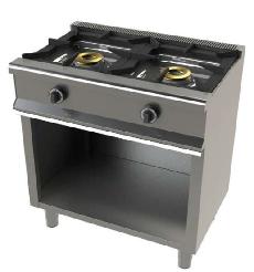 Cocina de 2 fuegos con mueble Mod. CH 6200/1