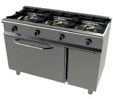 Cocina de 3 fuegos con horno y grill Mod. CH 6301g/1