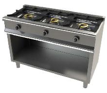 Cocina de 3 fuegos con mueble mod. CH 6300/1