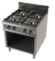 Cocina de 4 fuegos  con mueble fondo 900 Mod. CHFO9C400