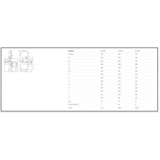 SIERRA DE CINTA MEDOC modelo ST-270 CE/INOX CE [1]