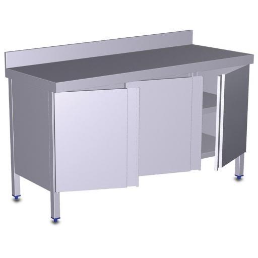 Mesa con puertas correderas o abatibles [1]