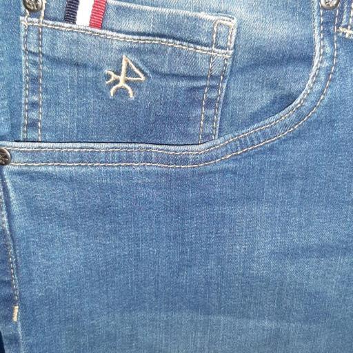 Pantalón H Denim Azul Jeans Medio
