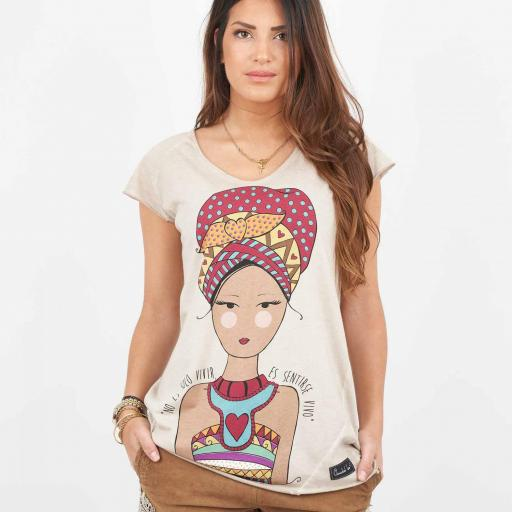 CAMISETA ÉTNICA ANABEL-LEE