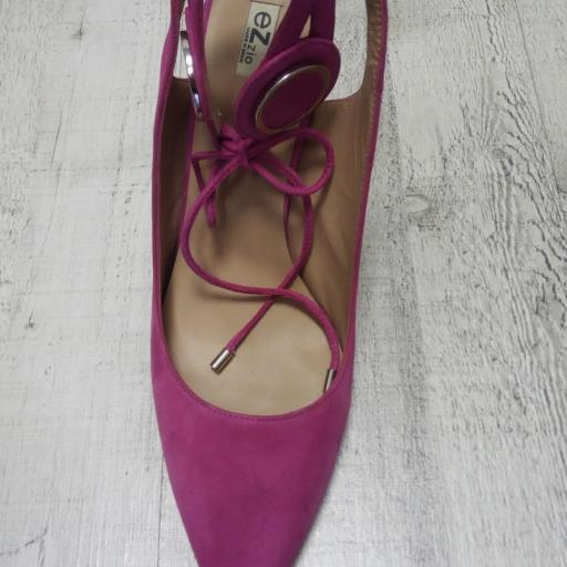 Zapato fiesta  color FUXIA [3]