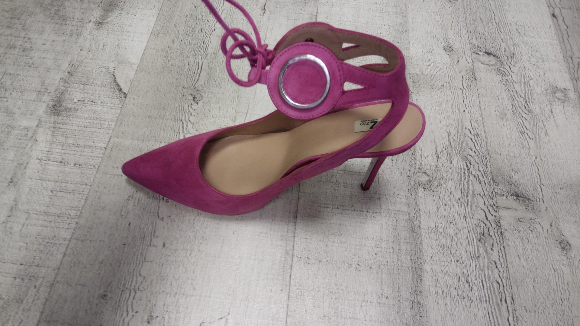 Zapato fiesta  color FUXIA