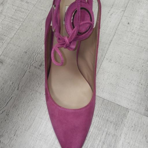 Zapato fiesta  color FUXIA [2]