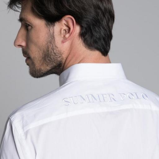 Camisa H Summer Polo Blanco [1]