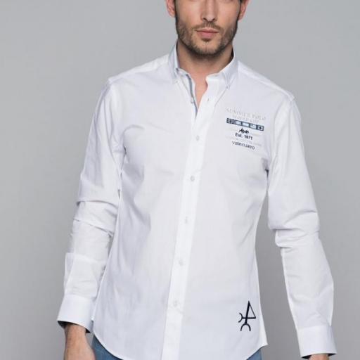 Camisa H Summer Polo Blanco [3]