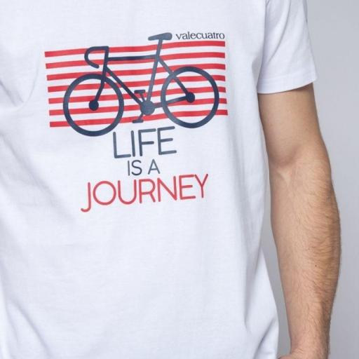 CAMISETA H BIKE BLANCO