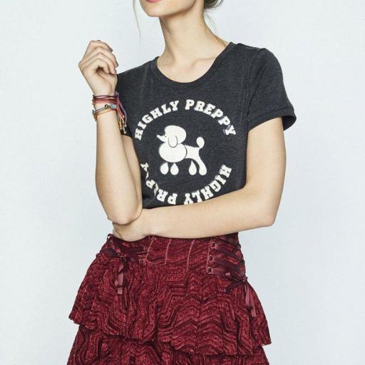 Camiseta HIGHLY PREPPY Poodle. Nueva Coleccion [1]