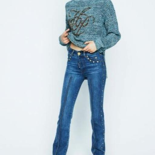 JEANS CAMPANA HIGHLY PREPPY
