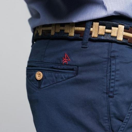 Pantalón H Chino Azul Marino