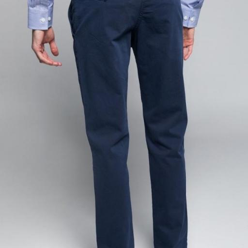 Pantalón H Chino Azul Marino [2]