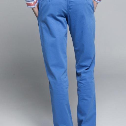 Pantalón H Chino Azul [2]