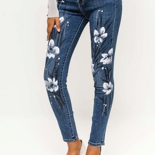 Jeans pintados