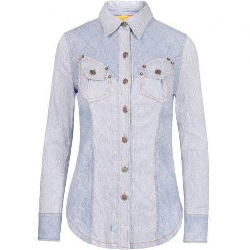 CAMISA JACQUARD HIGHLY PREPPY
