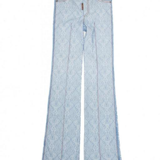 PANTALON PAISLEY SILKY HIGHLY PREPPY