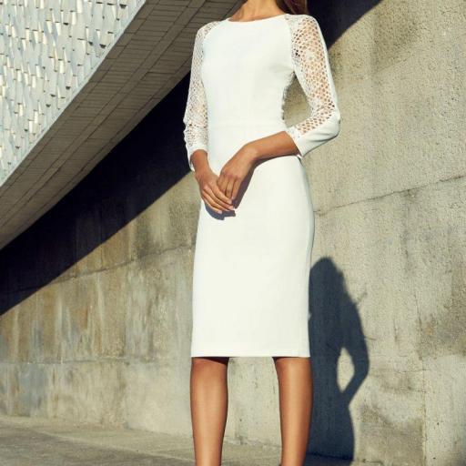 Vestido fucsia Carla Ruiz