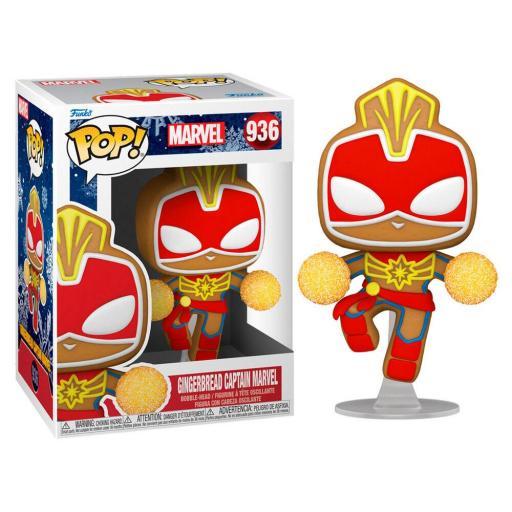 Funko pop 936 Captain marvel Holiday