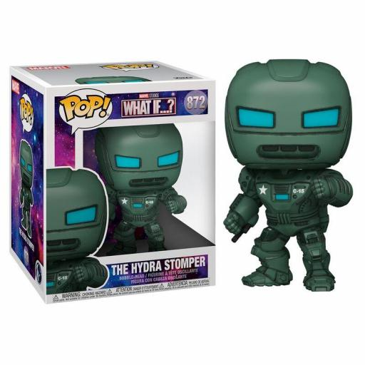 FUNKO  POP THE HYDRA STOMPER-MARVEL (WHAT IF.?)