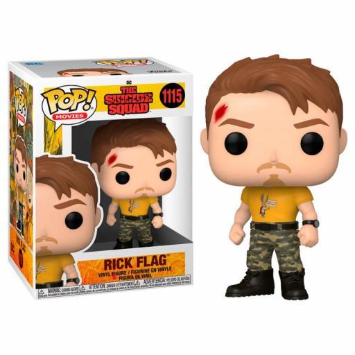 Funko pop 1115 Rick Flag  Escuadrón suicida