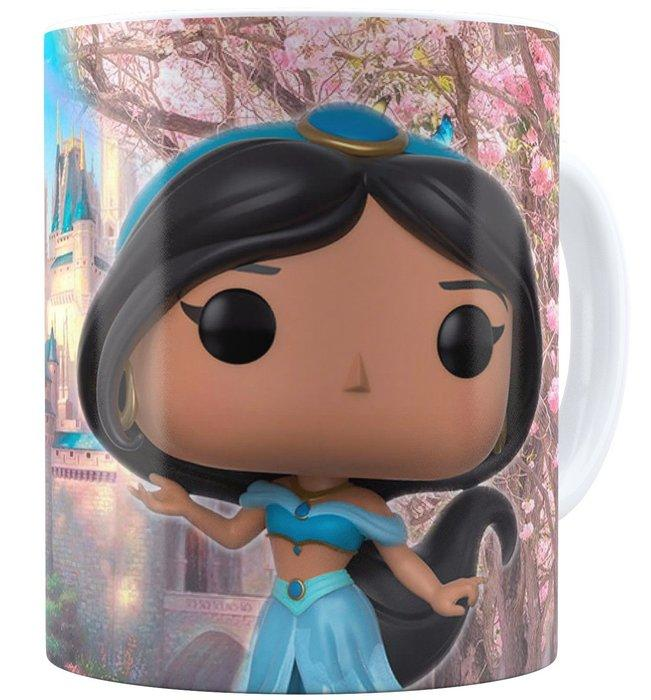 Taza muñeco funko Jasmine de Disney
