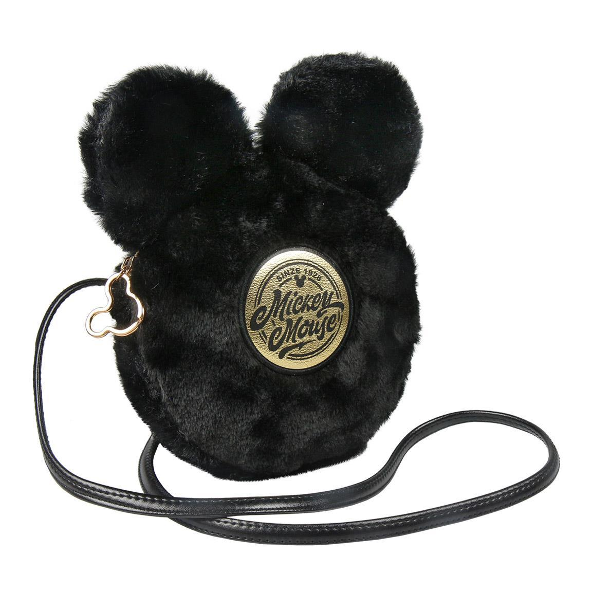 Bolso bandolera negro Mickey